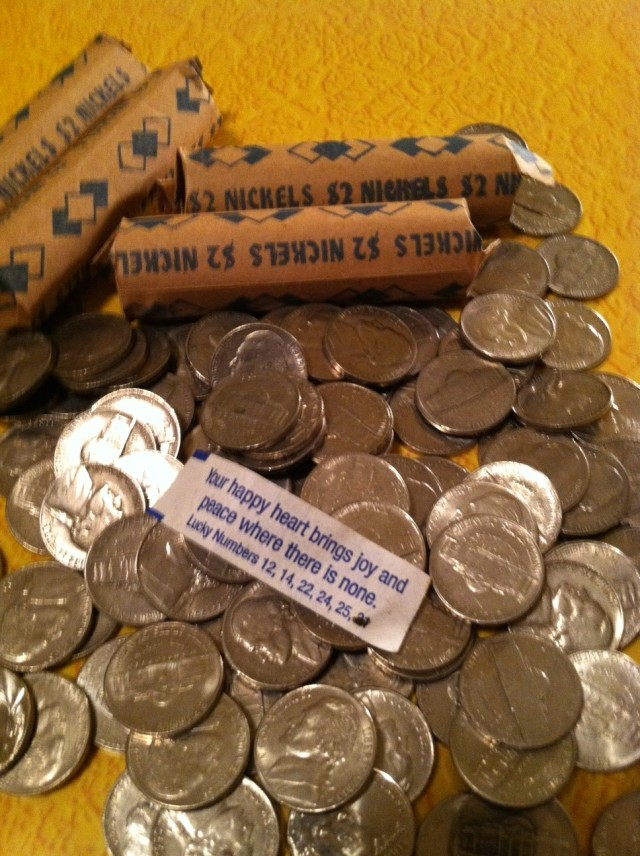 Nickels aren't silver and gold