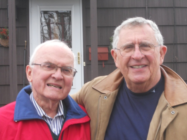 Roger Farrington and Herbie Blackstone