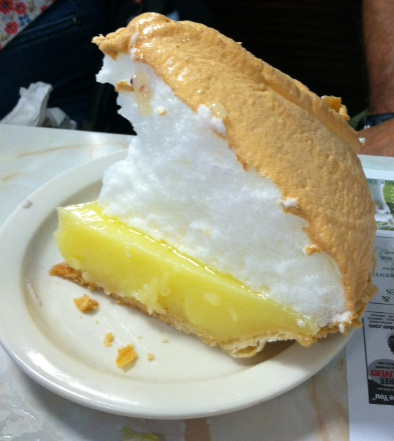 Pie at Moody's Diner