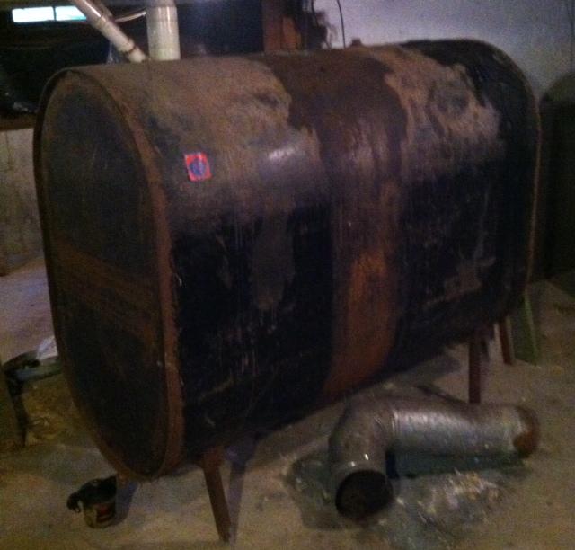 Damned Oil Tank