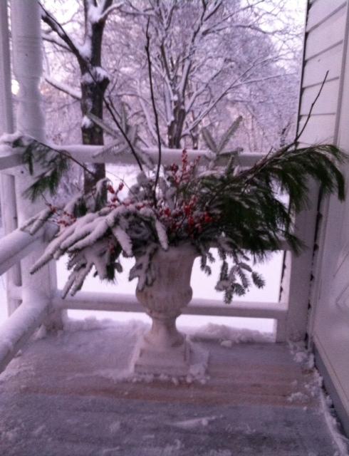Matin apres la neige