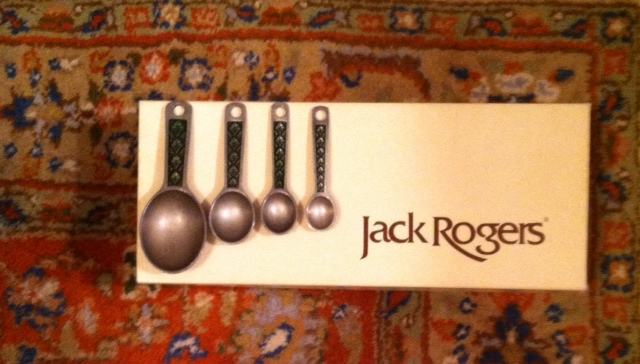 Jack Rogers Sandals and Spoons