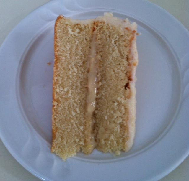 Maple Cake Catastrophe