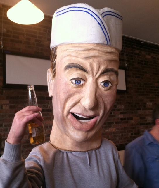 Big Head Puppet