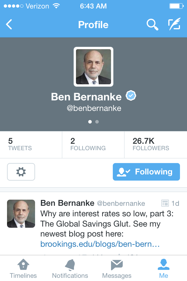 The Bernank